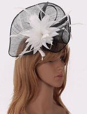 Ladies Women's Fashion Desinger Fascinator Hat Hair Accessories Wedding Party