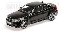 110020021 BMW serie 1 M COUPè 2011 NERO METALLICO (nero SAPP,1:18 Minichamps