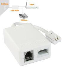 BT Sky Micro Filter Rj11 Modem Telephone Broadband ADSL Microfilter Splitter