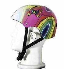 Punisher Helmet 11-Vent Multi-Sport Skateboard Bmx Butterfly Pink Youth Size M