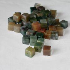 """10 Perle Cubi """"DIASPRO FANTASIA"""" 6 mm Multicolore"""