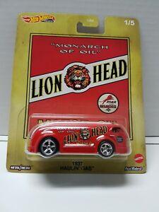 Hot Wheels Haulin' Gas 1937 Lion Head Brand New