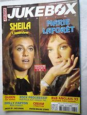 JUKEBOX MAGAZINE No 185  SHEILA - MARIE LAFORET