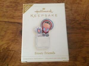 Hallmark Keepsake Ornament Frosty Friends Cool Yule 2006 Limited Repaint NIB