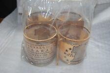 VINTAGE: 1776 ~ 1976 ~ BICENTENNIAL ~ DECLARATION ~ Glass Cup Set.* NEW *