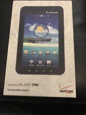 Samsung Galaxy Tab SCH-I800, Wi-Fi + Verizon 7inch Black Tablet