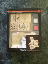 New Recollections Halloween Bag Kits With Stamps, Ink & Muslin Bags