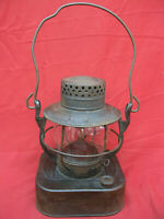 Rarer Antique Dietz 8-Day Square Bottom Lantern