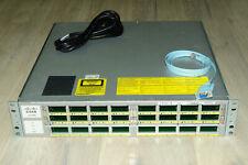 Cisco WS-C4900M Switch w/ 2x WS-X4908-10GE Dual PSU 1YrWty TaxInv