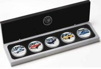 2006 INTERNATIONAL CLASSIC CARS 5 Silver proof Coin Set