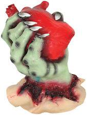 Animated Beating Heart in Hand Halloween Prop Decoration NEW
