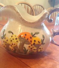 Arnels  1977 Mushroom Collectible Pitcher