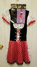 Miss Mouse Teen's (women 4-6)Costume,  New