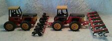 2 Scale Models 1/32 Versatile Tractors 276 Cultivator Planter & 256 Bi-Direction