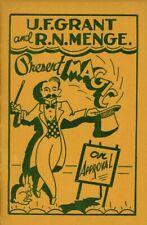 U.F Grant / R.N Menge / Magic on Approval / 1st ed