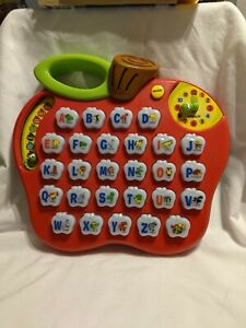 Vtech Alphabet Apple ABC Learning Education Fun Toy Music Interactive Phonics