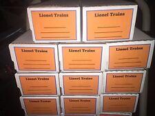 TOY TRAIN STORAGE BOXES - 25 QTY - NEW -