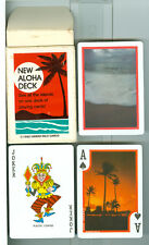 "Deck of Playing Cards ""New Aloha Deck"" 1990, Hawaii Wild  Cards"