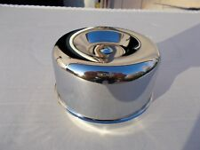 "Air cleaner chrome smooth sides,  stromberg ford rochester 2&5/8"" neck"