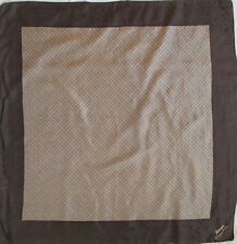 -Superbe Foulard  ASSIMA   100% soie  TBEG  vintage scarf  86 x 88 cm