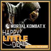 Mortal Kombat X PC STEAM GAME GLOBAL (NO CD/DVD!) Fast Delivery!
