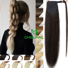 16''-30'' Magic Straps Ponytail 100% Human Hair Comb Pony Tail Hair Extensions