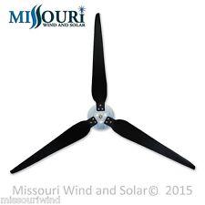 3 Raptor Generation 5™ 33 Inch Blades and Hub for Wind Turbine Generator s