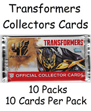 10 x Topps Transformer Packs New Sealed 10 cards per pack RRP £5 a pack