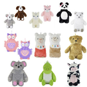 Hot Water Bottle with Novelty Plush Warm Cosy Luxuriously Super Soft Cover