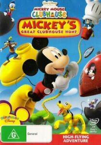 Mickey Mouse Great Clubhouse Hunt DVD ~ Brand New & Sealed Region 4 Walt Disney