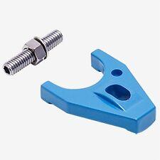 Billet Aluminum Distributor Hold Down,SBC,BBC,Distrubutor Kit,Blue,With Bolt