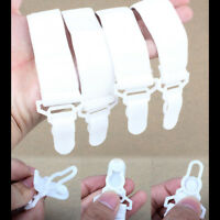 4pcs Elastic Bed Sheet Straps Suspenders Clip Grippers Fasteners Mattress Keeper