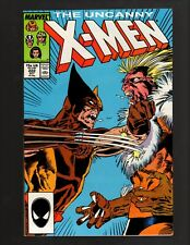 UNCANNY X-MEN #222 NEAR MINT- 9.2 SABRETOOTH 1987 - Unread Condition!!!@@