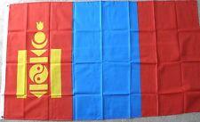 MONGOLIA MONGOLIAN POLYESTER INTERNATIONAL COUNTRY FLAG 3 X 5 FEET