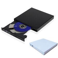 Fino Portátil USB 2.0 externa óptico DVD RW CD GRABADORA Escritor Drive para PC