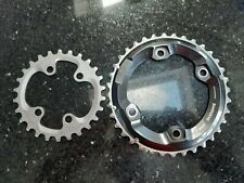Shimano XT M8000 chainrings 2x11 speed 36/26 tooth
