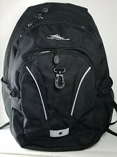 High SierraTSA Laptop Backpack Black w/ gray accents Business & Laptop Backpack