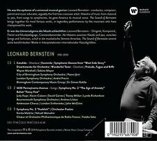 THE SOUND OF BERNSTEIN - RATTLE,SIMON/PREVIN,ANDRE/JÄRVI,PAAVO/LSO/+  3 CD NEUF
