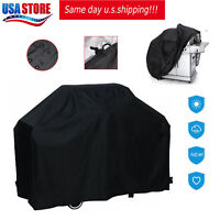 "BBQ Grill Cover 57"" 67"" 75""Gas Barbecue Waterproof Outdoor Heavy Duty Protection"
