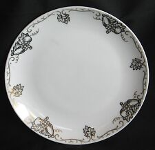 Cafton China Salad Plate Hand Painted Fruit Design 7 5/8""