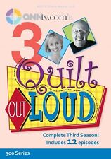 NEW! Quilt Out Loud Season 3 with Mark Lipinski and Jodie Davis [DVD]