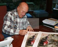 Sir Stirling Moss Signed 1956 Monaco Grand Prix Limited Edition Lithograph print