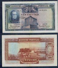 PORTUGAL MUY RARO BILLETE de 100 ESCUDOS. 12 de agosto de 1930. Serie YD 01254.