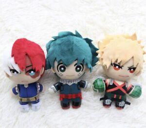 UK Seller Hot Anime My Hero Academia Plush Pendant Toy Anime Accessory 15cm