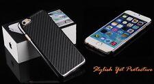 "Antichoque Fibra de Carbono Ultra Fino Carcasa para Apple Iphone 6 4.7"""