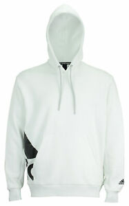 adidas Men's Box Badge Of Sport Pullover Hoodie, White