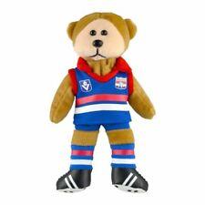 AFL HRTG Western Bulldogs Kids/children 21cm Footy Team Soft Bear Toy 3y