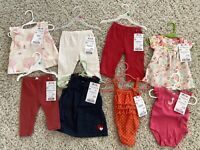 8 Piece Lot of Baby Girl Clothes Size 6-12 Months - Spring / Summer Mixed lot