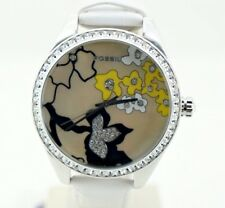 Fossil ES1958 50 mt reloj watch fashion ALL stainless steel mujer leather