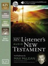The KJV Listener's Audio New Testament: Vocal Performance by Max McLean by...